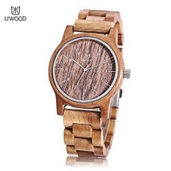 Dřevěné hodinky Cinturino ebony