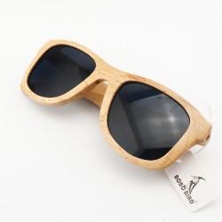 Dřevěné sluneční brýle