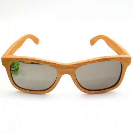 Dřevěné sluneční brýle - světlé dřevo