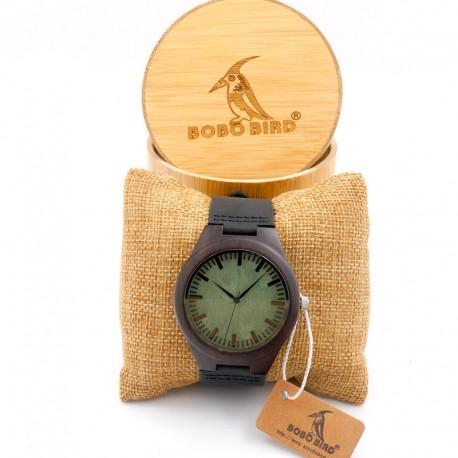 Dřevěné hodinky Slenders santal