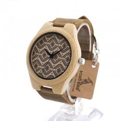 Dřevěné hodinky Modellta