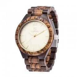 Dřevěné hodinky Slenders purple