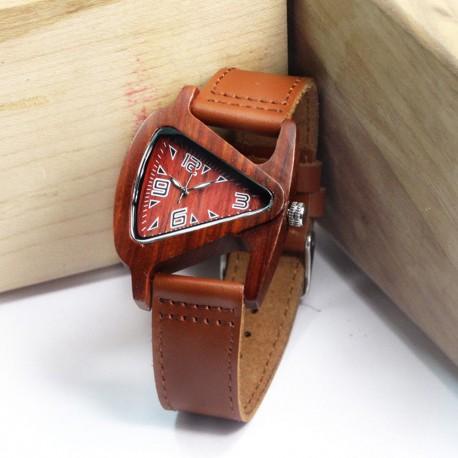Dámské hodinky ze dřeva Rettangolo