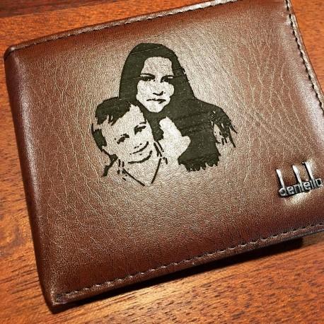 Peněženka s gravírovním jména či motivu na přání