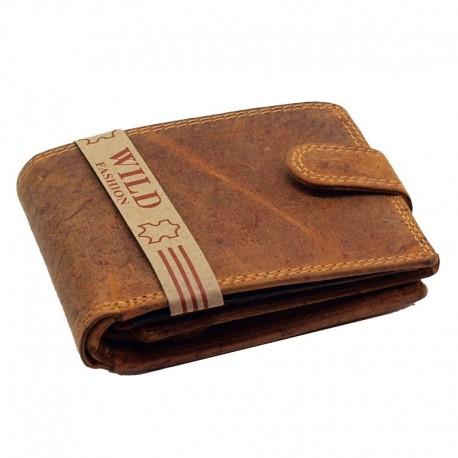 Pánská peněženka z kůže - hnědá