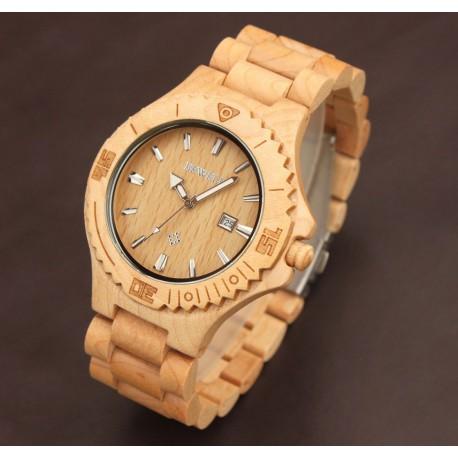 Dřevěné hodinky Bamboo black