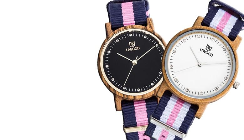 Dřevěné hodinky Giovane